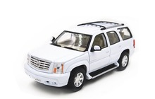 1:24 Welly 2002 Cadillac ESCALADE White Diecast Model Car Vehicle Toy New in Box