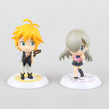 Anime The Seven Deadly Sins Meliodas & Elizabeth Liones Dragon's Sin of Wrath PVC Action Figure Collectible Model Toy KT1801(China)