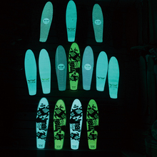 22 inch Penny Board Night Special Luminescent Transparent Design Waterproof Abrasive Sandpaper Wear Resisting Sticker