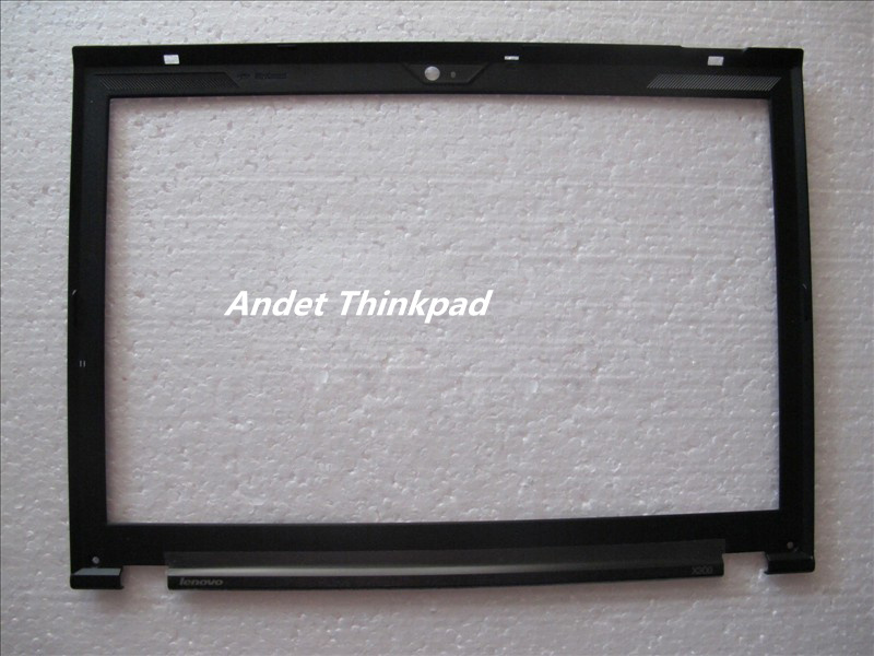 Free shipping New/Orig ThinkPad Lenovo X300 X301 lcd front bezel cover w/ Camera Port 75Y5572 75Y5569 42X5133<br><br>Aliexpress