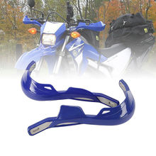 "Blue Aluminum Universal 7/8"" Brush Bar Hand Guard for Motorcycle Dirt bikes MX ATVs/For Yamaha WR YZ XT TTR 250 400 426 450"
