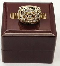 Factory direct sale wood boxes with Super Bowl 1985 Chicago Bears Sports Replica Championship Rings Good Quality rings!