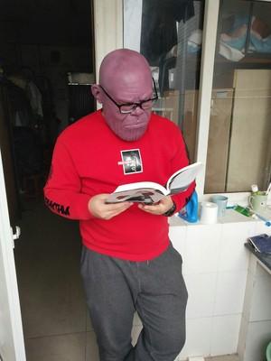 Thanos Cosplay Mask & Gauntlet Take Control of Your Infinity Saga Universe 14