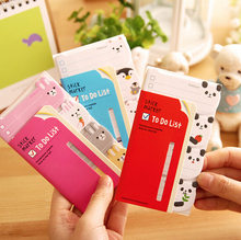 Novelty Cartoon Animals Memo Pad N Times Sticky Notes Memo Notepad FVD