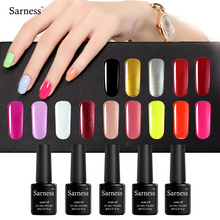 Sarness Lucky Nail Gel Polish Soak Off Color Fashion Gel Nail LED UV Profissional Long Lasting LED Nail Polish Gel Lacquer 8ML