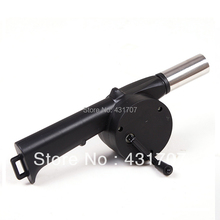 Free Shipping Hand Blower Barbecue Tools Barbecue Combustion Machine Tools, BBQ Manual Blower, BBQ Tools Set Air Blower