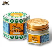 3Pcs X white tiger balm ointment for muscle pain ointment ease itching for headache and suffy nose 18g Pot(China)