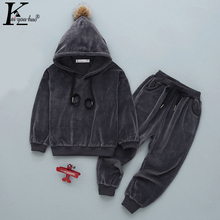 Costume Kids Clothes Toddler Girls Sport Suit Long Sleeve Tracksuit Girls Clothes Sets Boys Outfits Suits Children Clothing