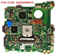 4738 4738G For ACER Laptop Motherboard HM55 DA0Z09MB6C0 DDR3 mainboard 100% Tested Free Shipping