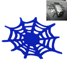 Spider Web Car Mobile Phone Holder Non Slip Sticky Gel Dash Sheet Tablet Phone Bracket Silicone Grip Pad Anti-slip Mat(China)