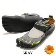 Mountain Climbing Men 5 Finger Toe Shoes Mens Flats Shoe Five Fingers Shoes Magic Buckle Foot Movement 5 Toes Sneakers for Sport