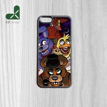 1pcs Popular Freddy Pizzeria fashion Background Durable TPU Phone Accessories Protective Cases for iphone 6 6s And 6 6s Plus(China)