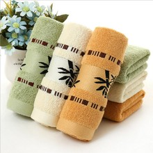 Free Shipping New Pattern Bamboo Fiber Towel super soft Gauze Towel  Hand Face Bamboo Tower-34 x 75cm