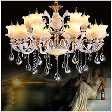 Traditional crystal chandelier lights Luxury crystal light chandelier for Living room Art deco Large chandeliers with LED bubls(China)