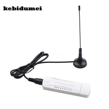 kebidumei DVB-T2 Digital USB TV Stick Tuner Satellite receiver DVB T2 USB 2.0 Russia and Europe TV Receiver Support DVB-T DVB-C(China)