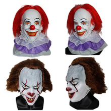 X-MERRY TOY Pennywise Clown Mask 2017 New Movie It Masks Classic Scary Clown Masken