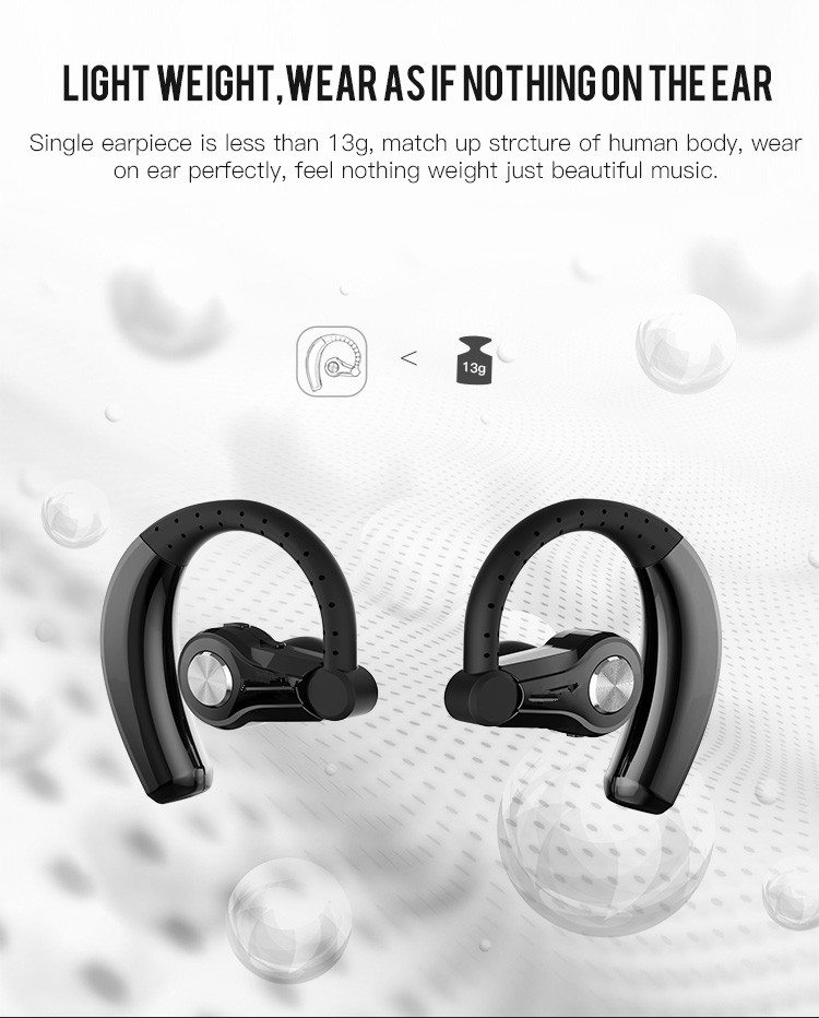 Gdlyl Twins True Wireless Earphone in ear CSR 4.1 Sport Stereo Bluetooth Headset With Voice Prompt True Wireless Earbuds