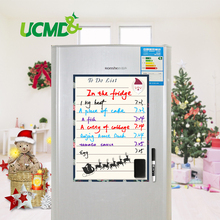 Fridge Magnets Flexible Dry Erase Magnetic Notes Mini Whiteboard Fridge Magnet Message Board Memo Pad Whiteboard For Fridge A4(China)
