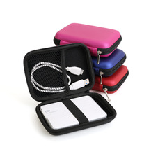 "External Hard Drive Disk Portable Zipper Case Bag Pouch Protector For 2.5"" WD Seagate HDD Hard Disk Drive(China)"