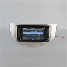 For LEXUS RX 350 RX350 - Radio CD DVD Stereo Player & GPS Nav Navi Navigation System / Double Din Car Audio Installation Set