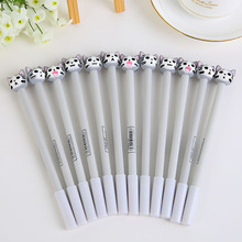 1pcs The new soft silicone Cat cartoon pen selling Gel Pen Smoothly 950 cute cartoon expression