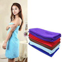 80*140cm Functional Soft Absorbent Microfiber Beach Bath Towel Travel Gem Quick Dry Towels New(China)