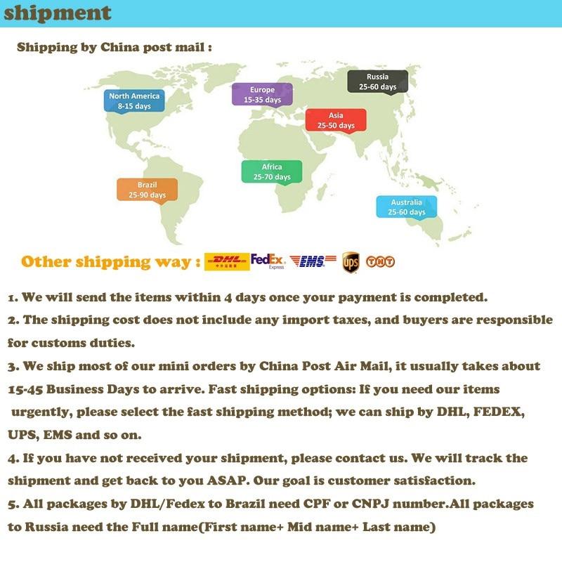 shipment for lens