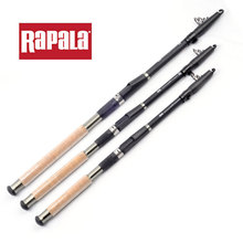 Rapala THUNDER STICK Carbon Fiber Fishing Rod Telescopic Pole Sea Carp Feeder Spinning Rod Tackle Winter Feeder Peche