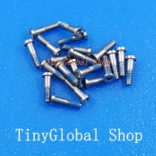 5pcs/set Brand new 5 point star bottom screw replacement for iphone 6 6P 6G 6GP 4.7 5.5 Silver/Black/Gold high quality(China)