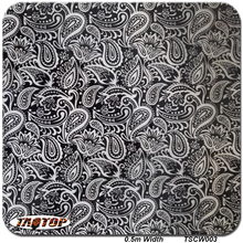 TACY003 Size 5m 10m New Transparent Flower Pattern Liquid Image Film Hydrographic Film Water Transfer Printing Film