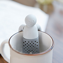Silicone Mr Tea Infuser Teapot Cute Tea Strainer Coffee &Tea Sets Soft fred MR. Tea Tool Gifts