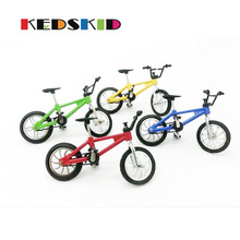 Creative toys model toy simulation Mini alloy bike finger bike model mountain bike Children's gift(China)