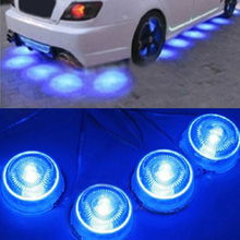 POSSBAY 80pcs Universal Decorative Car Underbody Under Glow Neon LED Light Lamp Blue 12V Chassis Lights