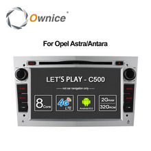 Ownice Android 6.0 8 Core 2G RAM Car DVD GPS For Vauxhall Opel Astra H G J Vectra Antara Zafira Corsa Support 4G LTE 32G ROM(China)