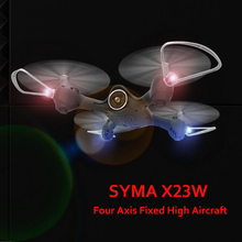 Buy Syma X23W Dron Quadrocopter Mini Drones Camera 0.3MP Real Time Video 2.4G 6 Axis RC Helicopter Professional FPV Quadcopter for $49.40 in AliExpress store