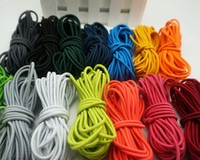 5yard/lot Stretchy Elastic String Cord Thread 2.5mm for DIY Jewelry Making 14 colors to choose Quantity Free shipping