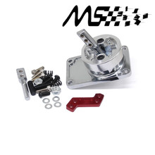 Stormcar ALUMINUM RACING SHORT THROW SHIFTER FOR 83-04 FORD MUSTANG T5 T-45 W/OD silver(China)
