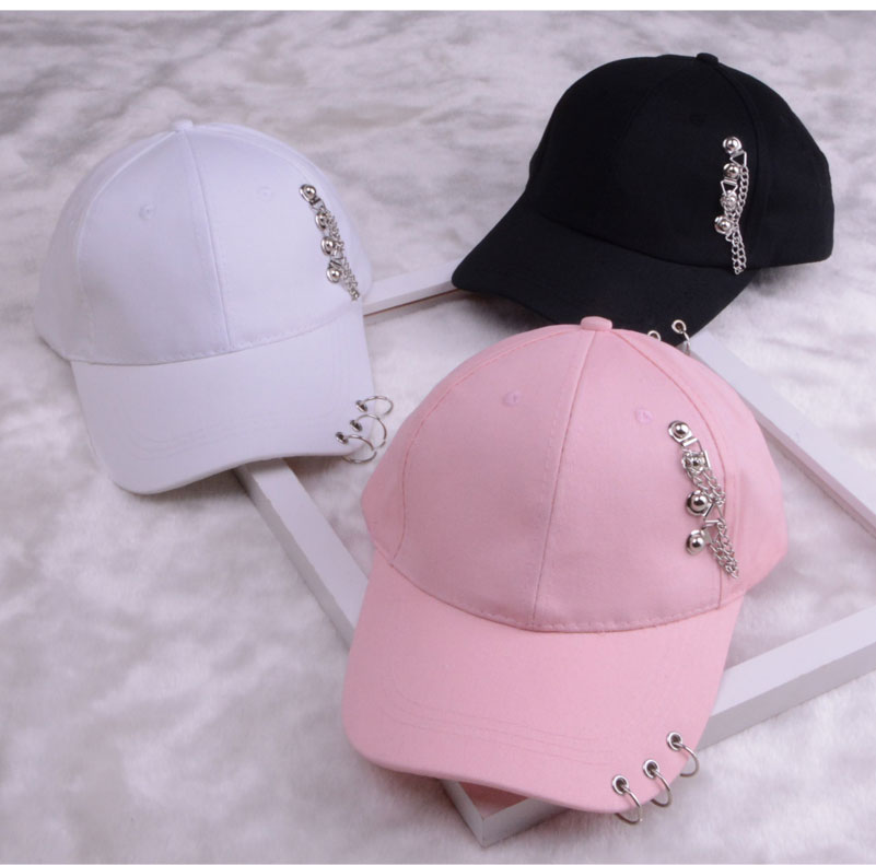 baseball cap with ring dad hats for women men baseball cap women white black baseball cap men dad hat (19)