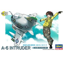 OHS Hasegawa 60130 Q Versin A6 Intruder Egg Plane Assembly Airforce Model Building Kits(China)