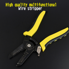 High quality multifunctional Wire stripper electrician tool Manual Stripping pliers  tools Wire drawing pliers Peeling pliers