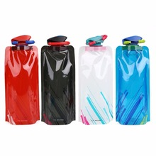 Buy 700ML Creative Collapsible Foldable drink Sport Water Bottle Camping Travel plastic bicycle bottle 4 Color optional for $1.46 in AliExpress store