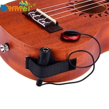 Acoustic Piezo Contact Microphone Pickup For Guitar Violin Mandolin Ukulele  Mikrofon microfono microfone Play
