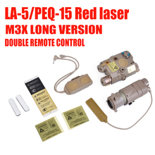 Element BLOCK I accessory kit include LA-5/PEQ-15 Red laser M3X LONG VERSION And DOUBLE REMOTE CONTROL(EX423)(China)
