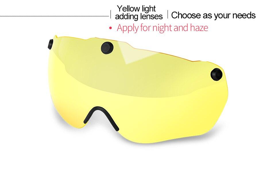 خوذة مع ضوء نظارات للرجال و النساء 3