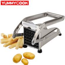 Potato Fries Cutter Machine French Fry Fruit Vegetable Tools Chips Splitters Kitchen Gadget Dining Accessories Supplies Products(China)