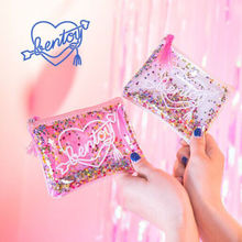 Sequins Shell Cosmetic Bag Shiny Travel Cosmetic Case Makeup Pouch Mini Purse(China)