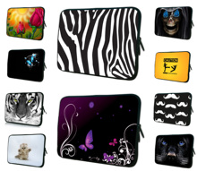 "7"" Unisex Tablet Zipper Soft Case Cover Bags For Apple iPad Mini 7.9"" Waterproof Mini PC Pouch Bag For Samsung Lenovo Acer 8.0"""
