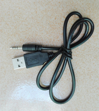 2.5mm 2.5 jeck jack plug to USB A charge cable/data for Waterproof mp3/mp4 Watch player Digital Video Camera DVR