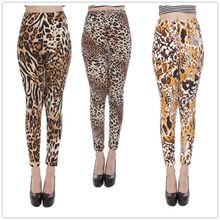 Women fitness slim comfortable stickers fashion ultra-soft color leopard leggings sexy pants