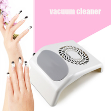 18W Vacuum Cleaner For Manicure Nail Dust Collector For Nails Art Design DIY Device For Manicure Including 110v/220v(China)
